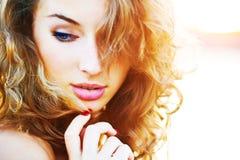 Shiny girl Royalty Free Stock Photography
