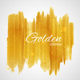 Shiny Glamorous Glittering Gold texture background Stock Photography