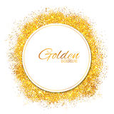 Shiny Glamorous Glittering Gold texture background Stock Photos