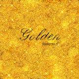 Shiny Glamorous Glittering Gold texture background Royalty Free Stock Image