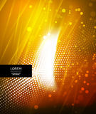 Shiny glittering abstract background Royalty Free Stock Photo