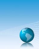 Shiny Globe Background II Stock Photo