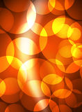 Shiny glowing glass circles, modern futuristic background template Stock Images