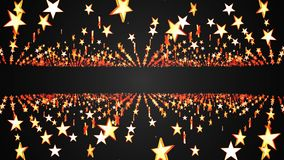 Shiny glowing rotating star field animation background New quality universal motion dynamic animated colorful joyful. Holiday music 4k stock video footage stock illustration