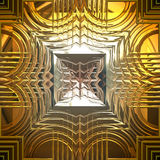 Shiny gold Royalty Free Stock Photography