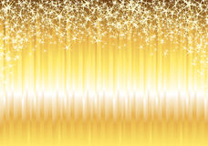 Shiny Gold Background Stock Image