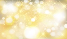 Shiny gold background. Gold, silver, metal background with shiny sparks, festive, new year, Christmas stock images