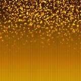 Shiny Gold Color Background Stock Photography