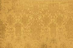 Shiny gold fabric Stock Photography