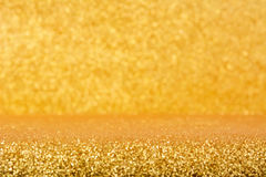 Shiny gold glitter background Royalty Free Stock Photography