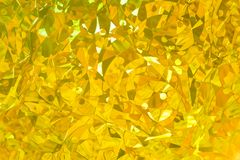 Shiny golden abstract textured background Royalty Free Stock Photography