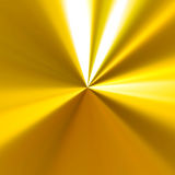 Reflective Golden Background Stock Photography