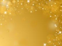 Shiny golden background Stock Images