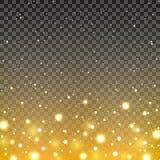 Shiny background with transparent effect. Shiny golden background with transparent effect Stock Photos