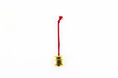 Shiny golden bell. Stock Photo
