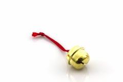 Shiny golden bell . Stock Image
