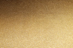 Shiny golden glitter texture background. Royalty Free Stock Photography