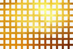 Creative golden grid texture shiny luxury gradient abstract. Shiny golden grid pattern for print and design. Creative abstract Royalty Free Illustration
