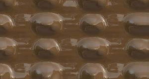 Shiny gourmet chocolate Royalty Free Stock Photography