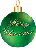 Shiny Green Gold Ornament Royalty Free Stock Images