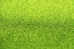 Shiny Green Paper Stock Image