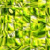 Shiny green tiles stock illustration