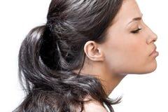 Shiny hair Stock Photography