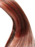Shiny hair wave Royalty Free Stock Image