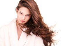 Shiny healthy hair. Stock Image
