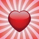 Shiny heart Stock Photos