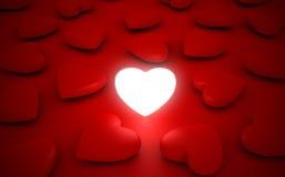 Shiny Heart stock photography