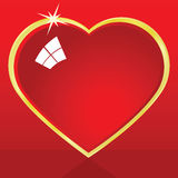 Shiny heart Royalty Free Stock Images