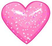 Shiny_heart 免版税图库摄影