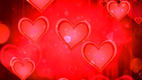 Shiny heart. Valentine`s Day. Background stock footage