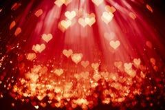 Free Shiny Hearts Background Stock Photography - 16599332