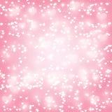 Shiny hearts background Stock Photo