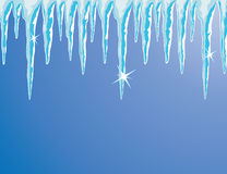 Shiny icicles Royalty Free Stock Photography