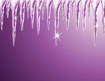 Shiny icicles Royalty Free Stock Photography