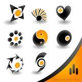 Shiny icons Stock Images