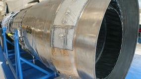 Shiny jet engine Royalty Free Stock Image