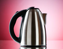 Shiny kettle Stock Photography
