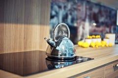 Shiny  kettle Royalty Free Stock Photos