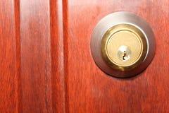 Shiny keyhole Stock Image