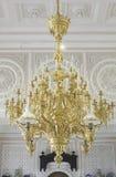 Shiny lamp gold Royalty Free Stock Photos