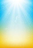 Shiny light background for Your design Royalty Free Stock Image