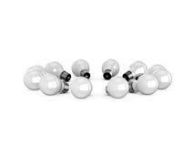 Shiny Light Bulbs Royalty Free Stock Photo
