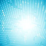 Shiny light halftone blue background Royalty Free Stock Photo
