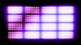 Shiny light wall, 3d animation Royalty Free Stock Photo