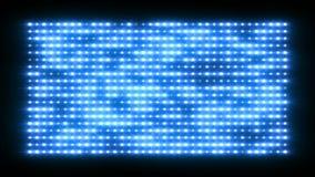 Shiny light wall, 3d animation Stock Photography
