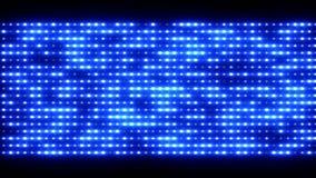 Shiny light wall, 3d animation Royalty Free Stock Photos